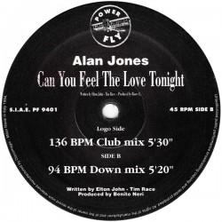 Alan Jones – Can You Feel The Love Tonight