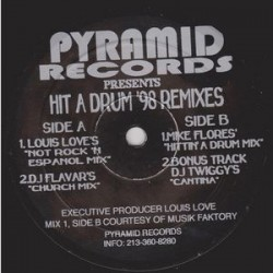 Louis Love & DJ Edd – Hit A Drum '98 Remixes