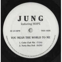 Jung – You Mean The World To Me