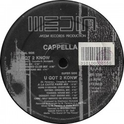 Cappella ‎– U Got 2 Know (MEDIA RECORDS)