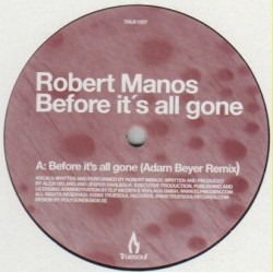 Robert Manos ‎– Before It's All Gone