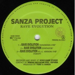 Sanza Project- Rave Evolution(2 MANO,BASE REMEMBER 90'S¡)