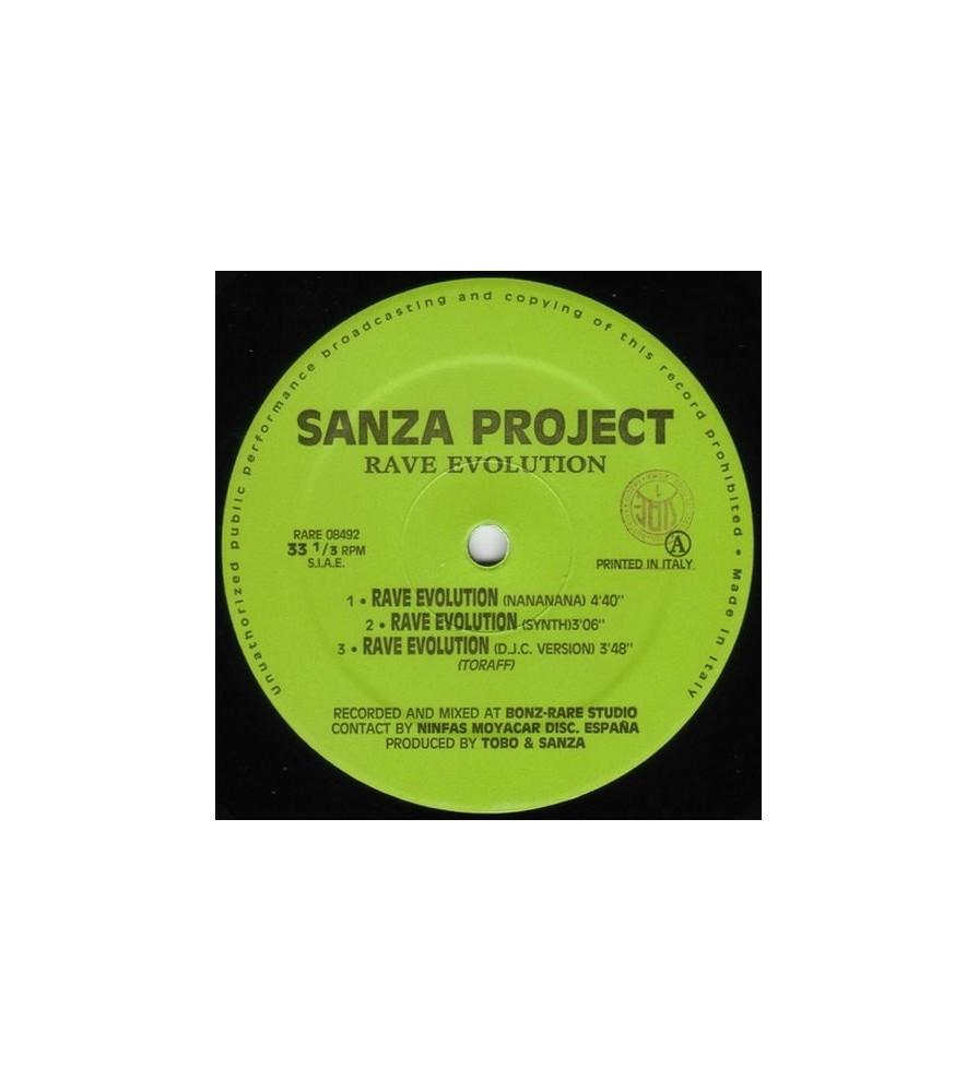 Sanza Project- Rave Evolution(2 MANO,BASE REMEMBER 90'S¡)