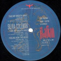 Silvia Coleman – Take My Breath Away