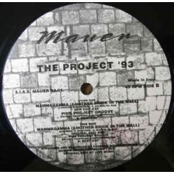 The Project '93 ‎– Mammagamma (Another Brick In The Wall)
