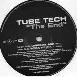 Tube-Tech ‎– The End (MEDIA RECORDS)
