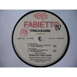 Fabietto DJ - Treasure(OTRA JOYA REMEMBER¡¡ NUEVO/IMPORTACIÓN/COPIA ÚNICA¡¡ BUSCADISIMO¡)