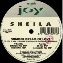 Sheila ‎– Summer Dream Of Love (JOY RECORDS)