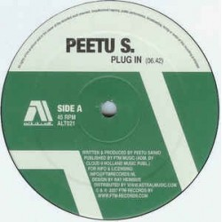 Peetu S. ‎– Plug In / Rio Avenue / Bigger Palace