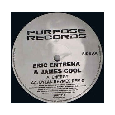 Eric Entrena & James Cool ‎– Energy