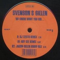 Svenson & Gielen ‎– We Know What You Did (DANCE FACTORY)