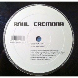 Raul Cremona ‎– Slim Label