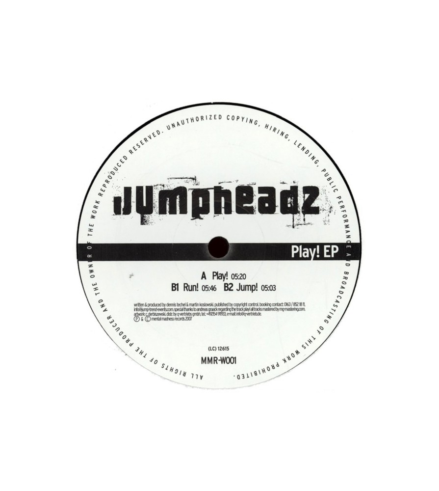 Jumpheadz - Play! EP(3 CABROTES¡¡ ESTILO PARLOTTI¡¡)