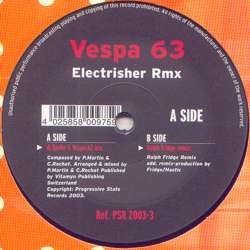Vespa 63 – Electrisher (Remixes)