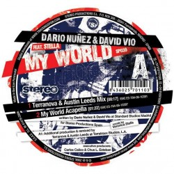 Dario Nuñez & David Vio ‎– My World