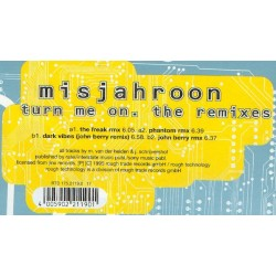 Misjahroon ‎– Turn Me On (The Remixes)