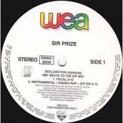 Sir Prize – Declaration (Dipdipda)
