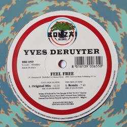Yves Deruyter ‎– Feel Free (TEST PRESSING ORIGINAL)