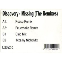 Discovery – Missing (The Remixes)