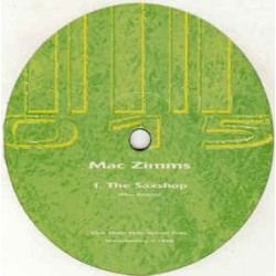 Mac Zimms ‎– The Saxshop