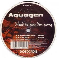 Aquagen - Hard To Say I'm Sorry(TEMAZO REMEMBER¡¡  EDICIÓN ALEMANA¡¡)