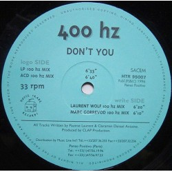 400 Hz – Don't You