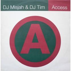 DJ Misjah & DJ Tim - Access(CLÁSICO DE LOS 90,COPIA IMPORT NUEVA¡¡)