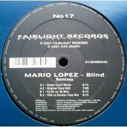 Mario Lopez – Blind (2 MANO,CANTADITO IMPORT AÑO 2001)