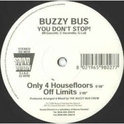Buzzy Bus – You Don't Stop