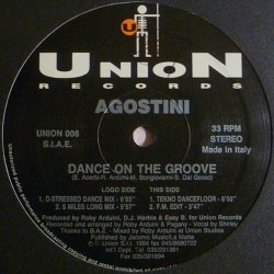Agostini ‎– Dance On The Groove