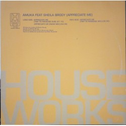 Amuka ‎– Appreciate Me (HOUSE WORKS)