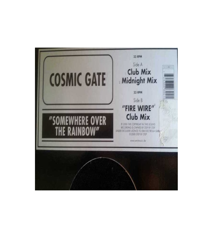 Cosmic Gate - Somewhere Over The Rainbow / Fire Wire