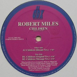 Robert Miles ‎– Children (IMPORT ITALIANO)