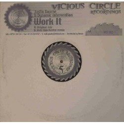 Justin Bourne & Dynamic Intervention - Work It (COPIA IMPORT,BASUCO¡¡)
