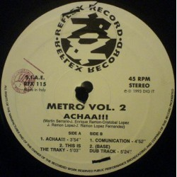 Metro  - Vol. 2 (THIS IS THE TRACKY¡¡)