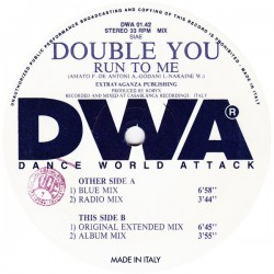 Double You - Run To Me (SELLO DWA¡¡)