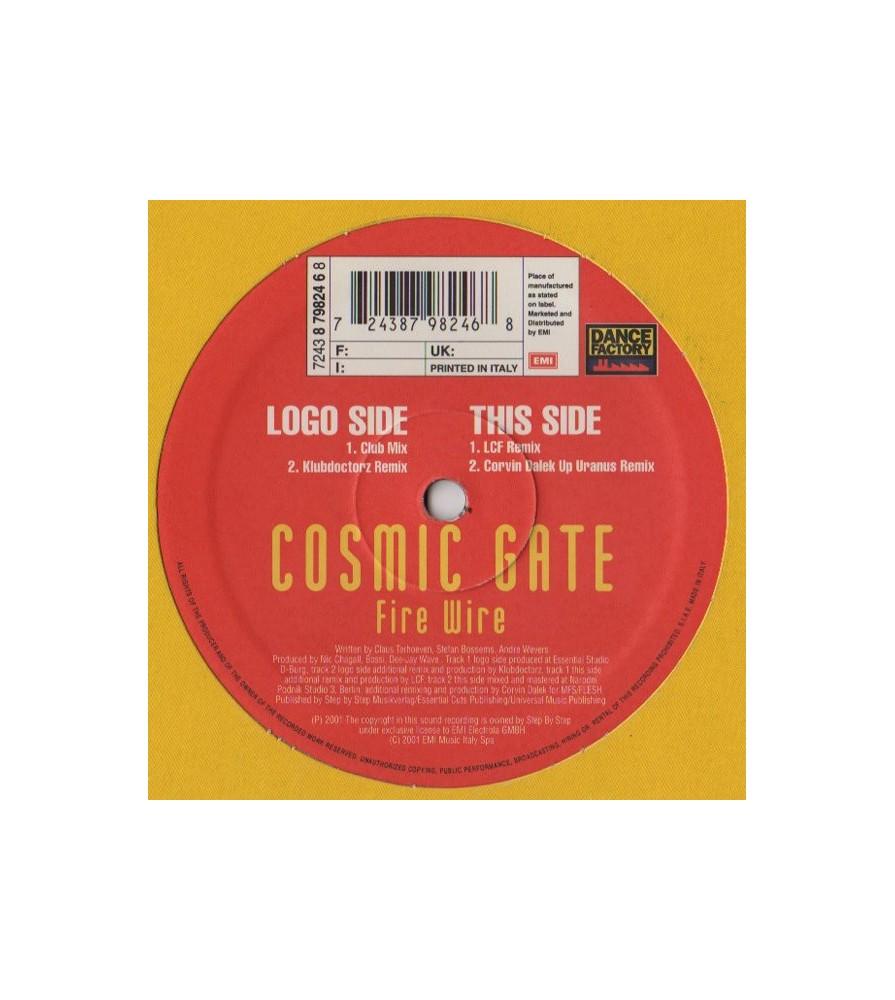 Cosmic Gate – Fire Wire (DANCE FACTORY)