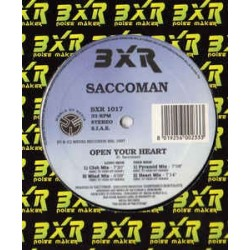 Saccoman ‎– Open Your Heart