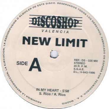 New Limit - In My Heart