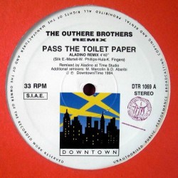 The Outhere Brothers-Pass The Toilet Paper (PELOTAZO CHOCOLATERO,COPIA IMPORT¡¡¡¡¡¡)