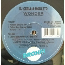 DJ Cerla & Moratto ‎– Wonder