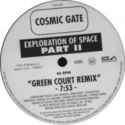 Cosmic Gate ‎– Exploration Of Space Part II / Melt To The Ocean Part II
