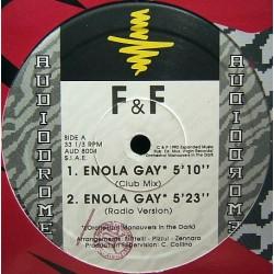 F & F - Enola Gay(2 MANO,REMEMBER BUSCADO EN MADRID¡¡)