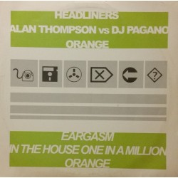 Headliners / Alan Thompson vs. DJ Pagano – Untitled