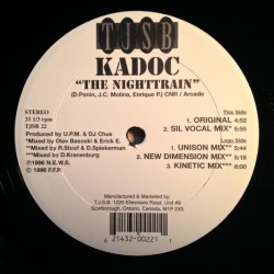 Kadoc ‎– The Nighttrain (EDICIÓN CANADIENSE)