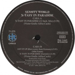 Sensity World ‎– X-Tasy In Paradise (DISCO ORIGINAL¡¡¡)