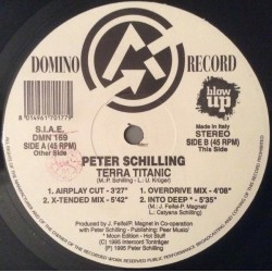 Peter Schilling ‎– Terra Titanic (DOMINO RECORDS)