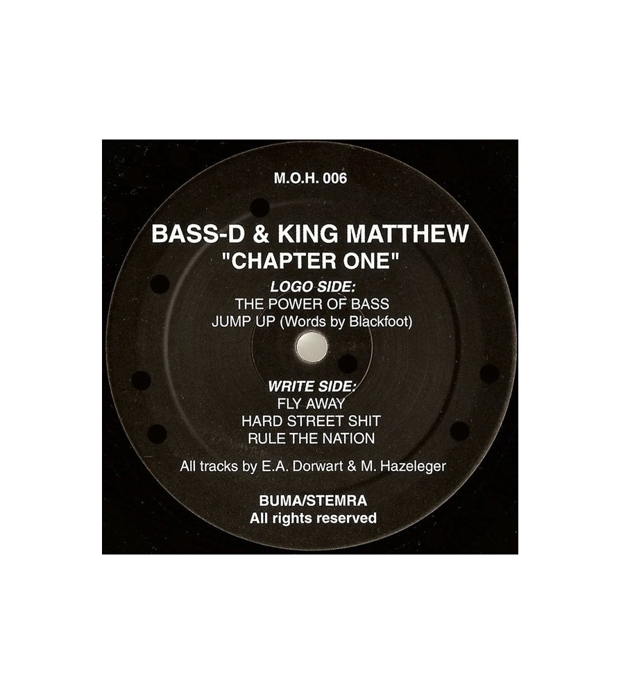 Bass-D & King Matthew – Chapter One (MOH)