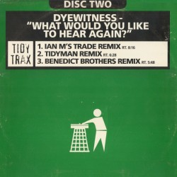 Dyewitness ‎– What Would You Like To Hear Again (Remix)
