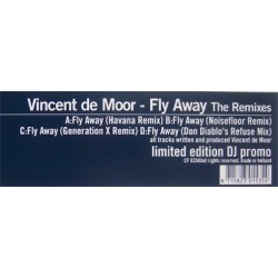 Vincent De Moor ‎– Fly Away (Remixes)